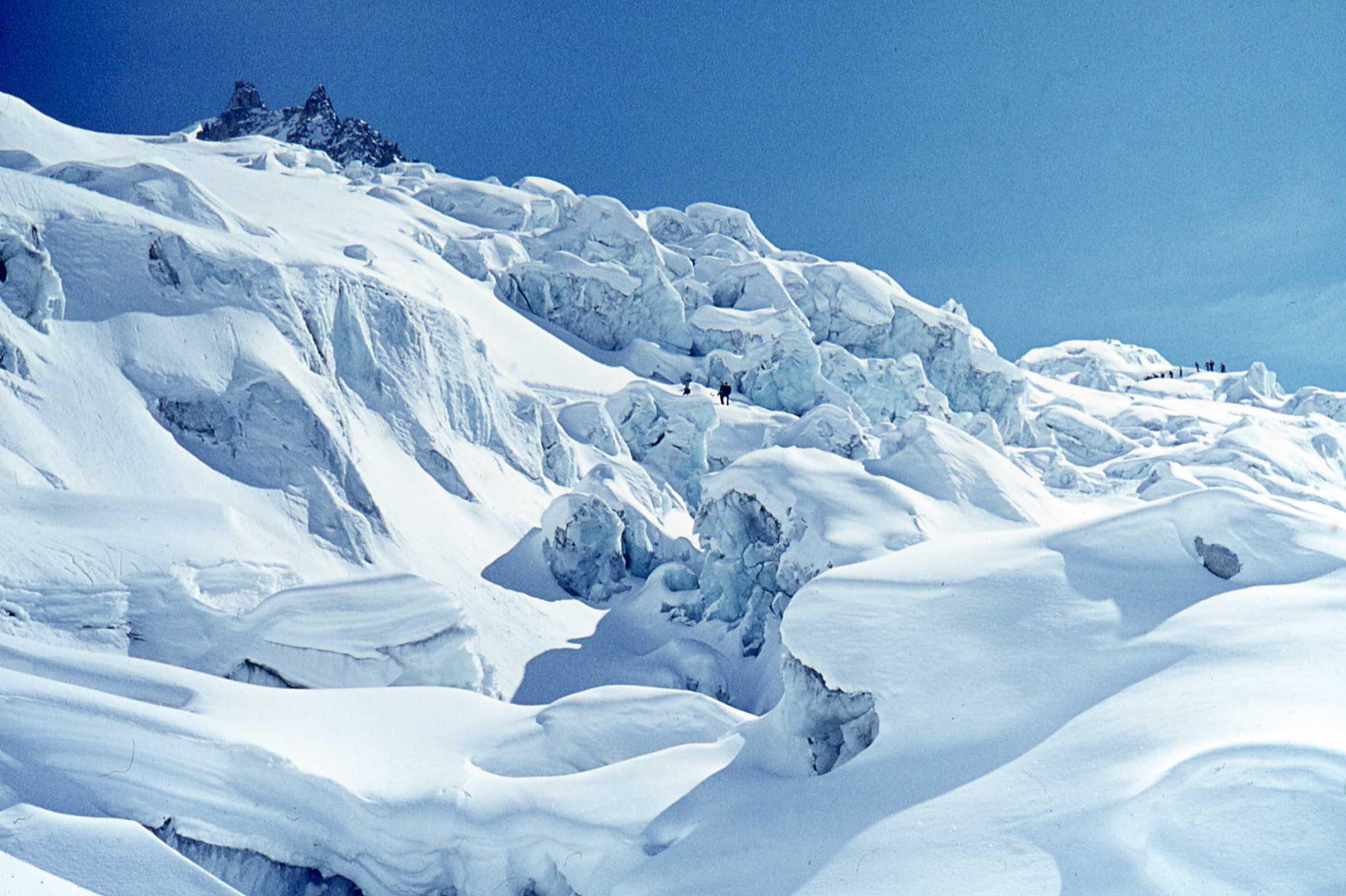 Fra i seracchi del Monte Bianco