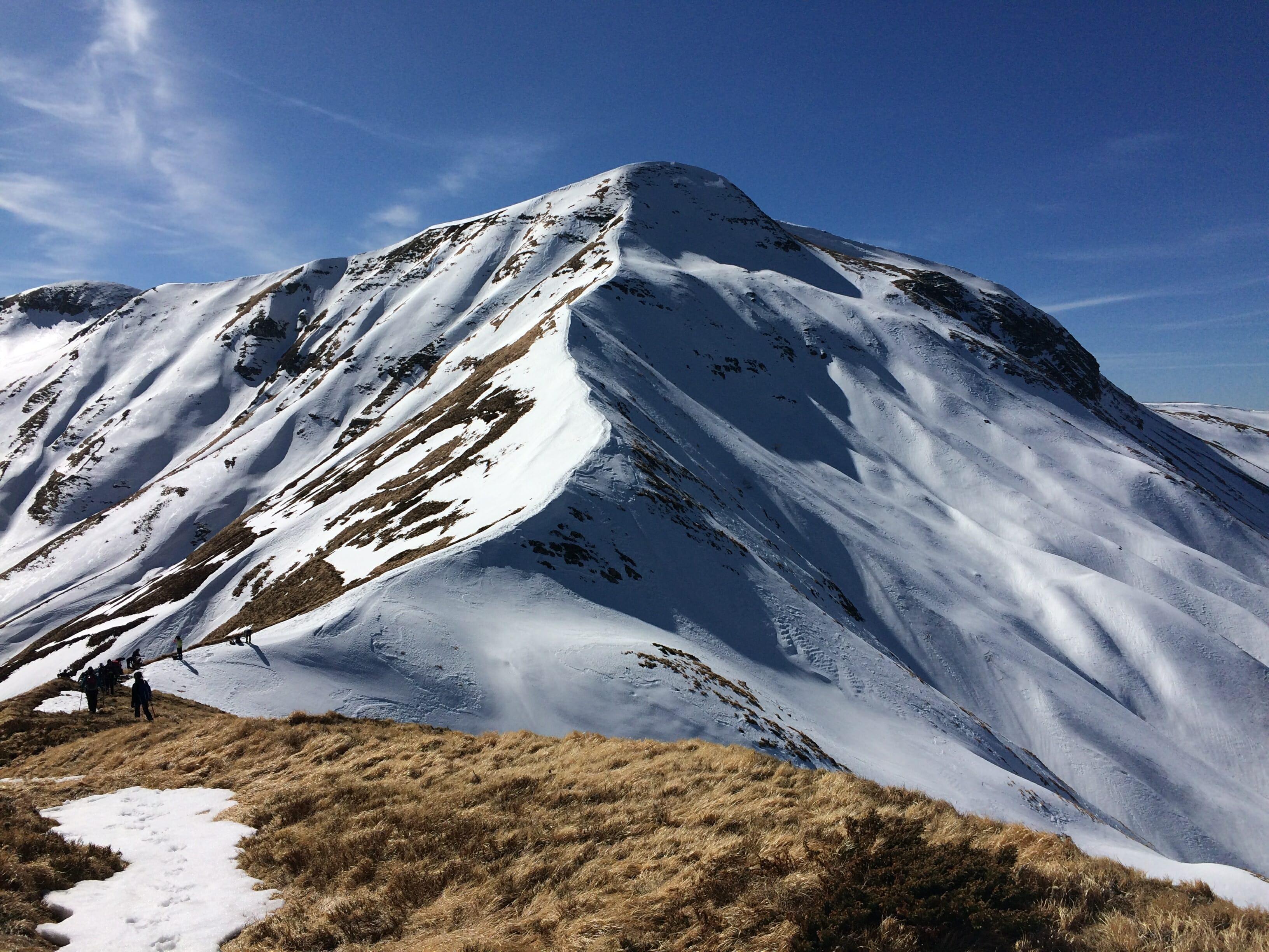 Monte Spigolino versante nord